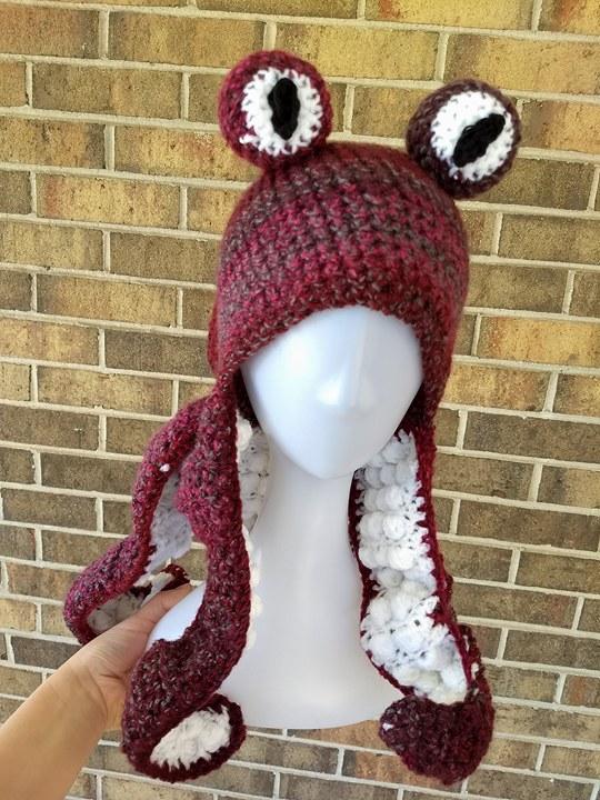 Crochet Octopus Hat Pattern Stunning Crochet Octopus Hat The Pattern Unique Crochet Octopus Hat Pattern